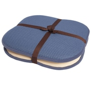 Sweet Home Collection Back/Seat Chair Cushion (Set of 2); Blue