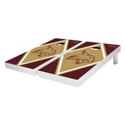 Victory Tailgate NCAA Diamond Version Cornhole Bean Bag Toss Game; Texas State University Bobcats