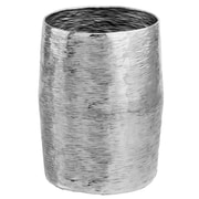 Modern Day Accents Barril Silver Barrel Stool