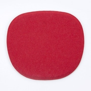 Kubikoff Dining Chair Cushion; Red