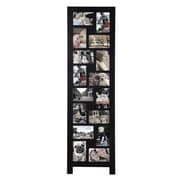 AdecoTrading 16 Opening Wood Floor-Standing Easel Picture Frame
