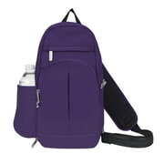 Travelon Anti Theft Classic Light Sling Backpack; Purple