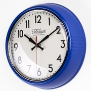 Control Brand Cambridge 10.25'' Wall Clock; Blue