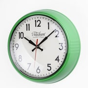 Control Brand Cambridge 10.25'' Wall Clock; Green