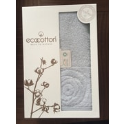 EcoCotton Organic Turkish Hand Towel; Black