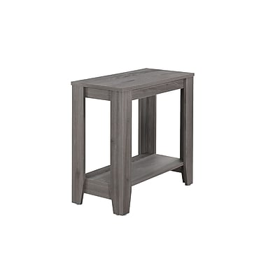 Monarch 3118 Accent Table, Grey