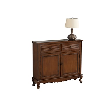 Monarch 3850 Accent Chest, Dark Walnut Transitional Style