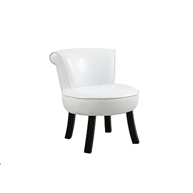 Monarch 8155 Juvenile Chair, White, Leather-look
