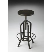 Butler Metalworks Adjustable Height Swivel Bar Stool