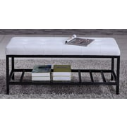 NOYA USA Bedroom Bench; White