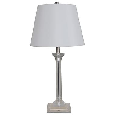 Catalina Lighting Dimmable LED Acrylic 26'' Table Lamp