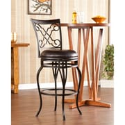 Southern Enterprises Winston Swivel Bar Stool (BC1150)