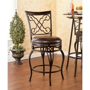 Southern Enterprises Winston Swivel Counter Stool (BC1155)
