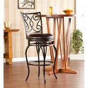 Southern Enterprises Hanover Swivel Bar Stool (BC1170)