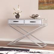 Southern Enterprises Lazio Industrial Mirrored Console Table (CK4813)