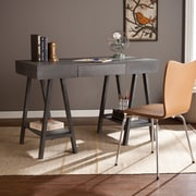 Southern Enterprises Alaska Desk, Gray Wash (HO8722)