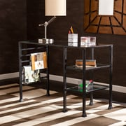 Southern Enterprises Metal/Glass Writing Desk (HO8776)