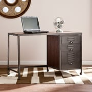 Southern Enterprises Radcliff Wood/Metal File Desk