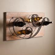 Southern Enterprises Zamora Wall-Mount Wine Rack (HZ1003)
