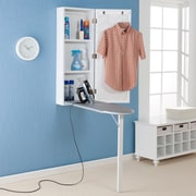 Southern Enterprises Wall-Mount Ironing Center (HZ3480R)
