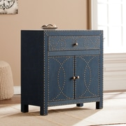 Southern Enterprises Florian Double-Door Cabinet, Navy (HZ5925)