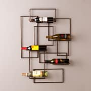 Southern Enterprises Valier Wall-Mount Wine Sculpture (HZ7068)