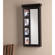Southern Enterprises Moore Photo Jewelry Mirror, Black (JS8490)