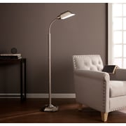 Southern Enterprises OttLite Alton Task Floor Lamp, Brushed Nickel (LT6122)