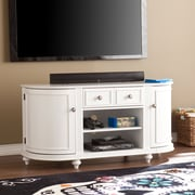 Southern Enterprises Dandridge TV/Media Stand, White (MS8342)