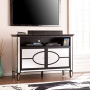 Southern Enterprises Aristo Mirrored TV/Media Stand (MS8701)