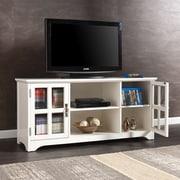 Southern Enterprises Remington TV/Media Stand, White (MS9908)