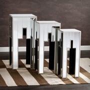 Southern Enterprises Elena Mirrored Table, 3 Pieces/Set (OC4024)