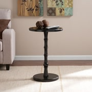 Southern Enterprises Rossum Round Accent Table, Black (OC9180)