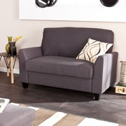 Holly & Martin Plushen Loveseat, Anthracite (UP9422)