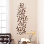 "Southern Enterprises Vescia 48"" Metal Wall Sculpture (WS9724)"