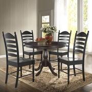 Carolina Cottage Newport 42'' Dining Table; Espresso