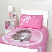 Rachael Hale So Sweet Kitten 3 Piece Twin Quilted Comforter Set