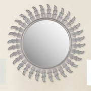Safavieh Inca Sun Mirror; Grey