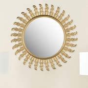 Safavieh Inca Sun Mirror; Gold