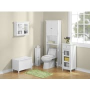 Jenlea Bathroom Space Saver 24.5'' x 62.5'' Free Standing Over the Toliet