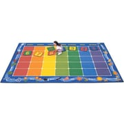 Carpets for Kids Theme Calendar Area Rug; 7'6'' x 12'