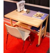 Oasis Concepts 36'' W X 24'' D Flip and Fold Training Table