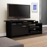 Home Loft Concept Step One Brown TV Stand; Black