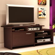 Home Loft Concepts Step One Brown TV Stand; Chocolate