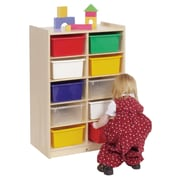 Steffy 10 Compartment Cubby; Multi-Color