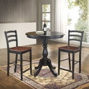 Carolina Cottage Newport 36'' Pub Table; Antique Black