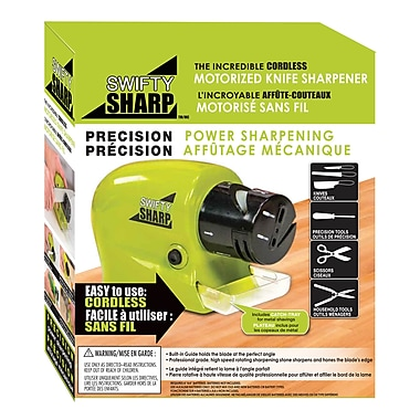 Swifty Sharp - The Incredible Cordless Motorized Knife Sharpener