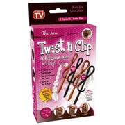 Twist n Clip - Holds your hair all day long, 4/Pack