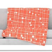 KESS InHouse Woven Web I Throw Blanket; 60'' L x 50'' W