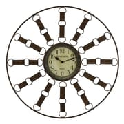 Cooper Classics Oversized 35.25'' Thurston Wall Clock